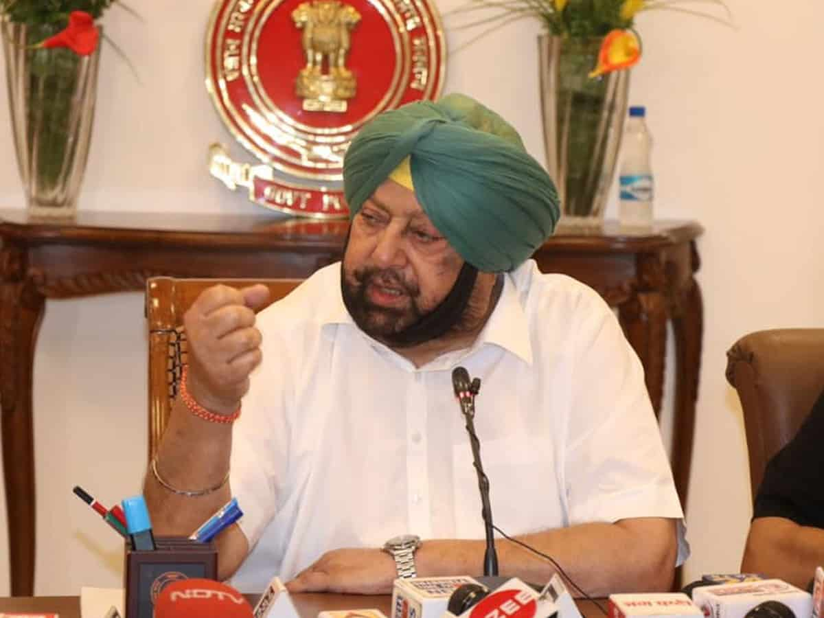 Bid to displace 30,000 Sikh farmers in UP wrong: Punjab CM
