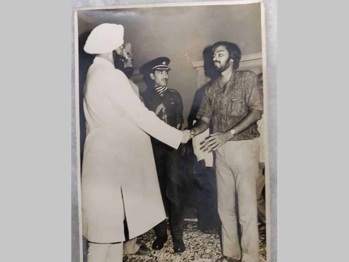 The breaking news that never was; saga of meeting Zail Singh