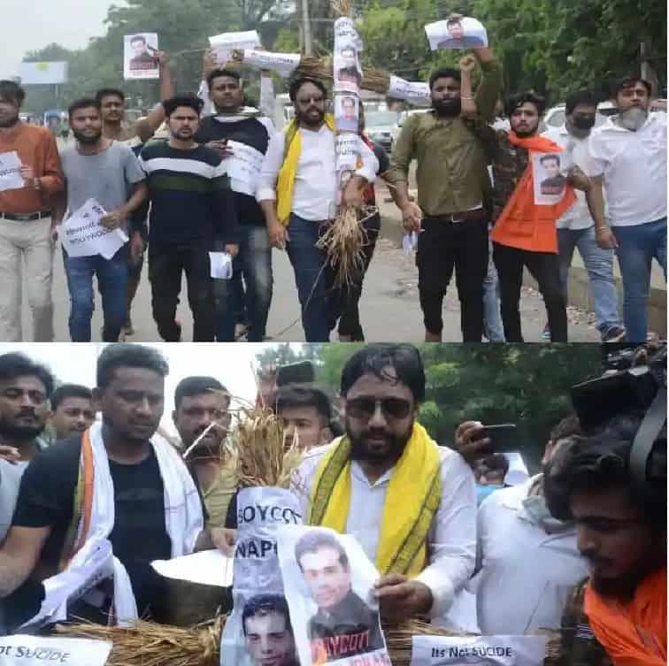 Sushant-Protest-Patna