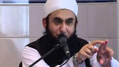 Photo of Maulana Tariq Jameel slips on floor, bleeds profusely