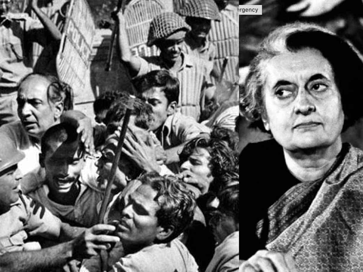 Emergency--A dark chapter in Indian democracy