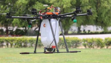 Photo of Students in Hyderabad develop disinfectant drone to combat COVID
