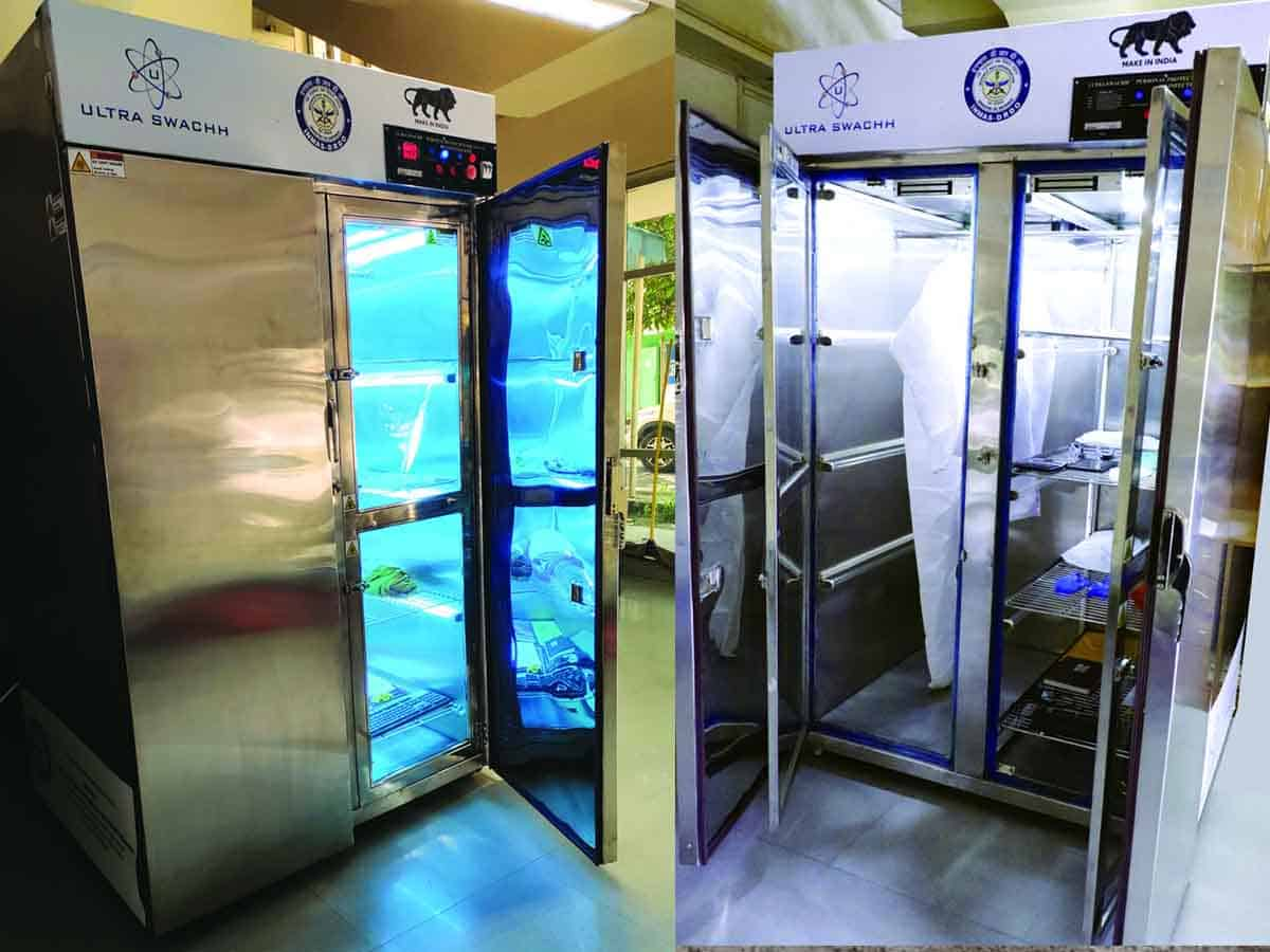 DRDO develops Ultra Swachh for disinfection of PPEs