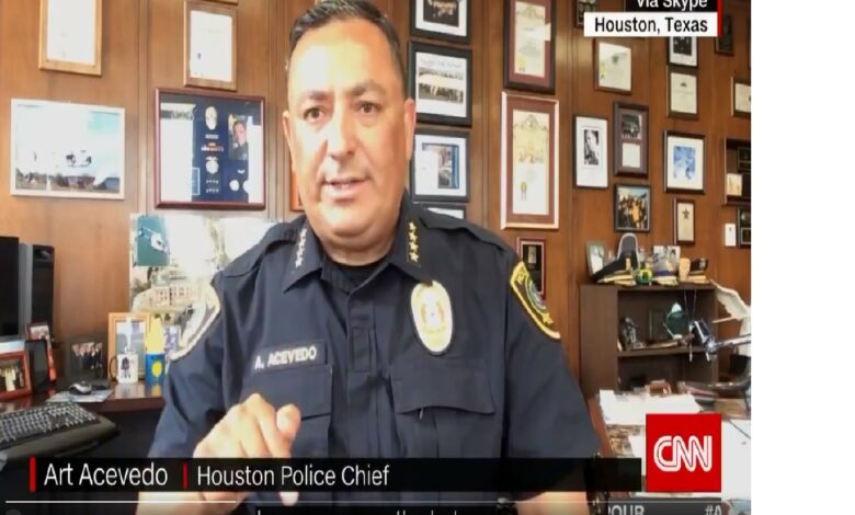 Houston Police Chief ArtAcevedo