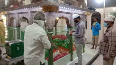 Photo of Yusufain Dargah open to public, social distancing being enforced