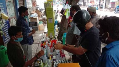 Photos: Sanitizers costs reduces with increase of competition