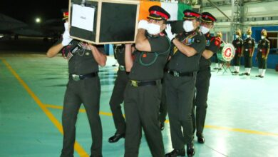 Photo of Photos: Indian Army, ministers pay tribute to Colonel Santosh