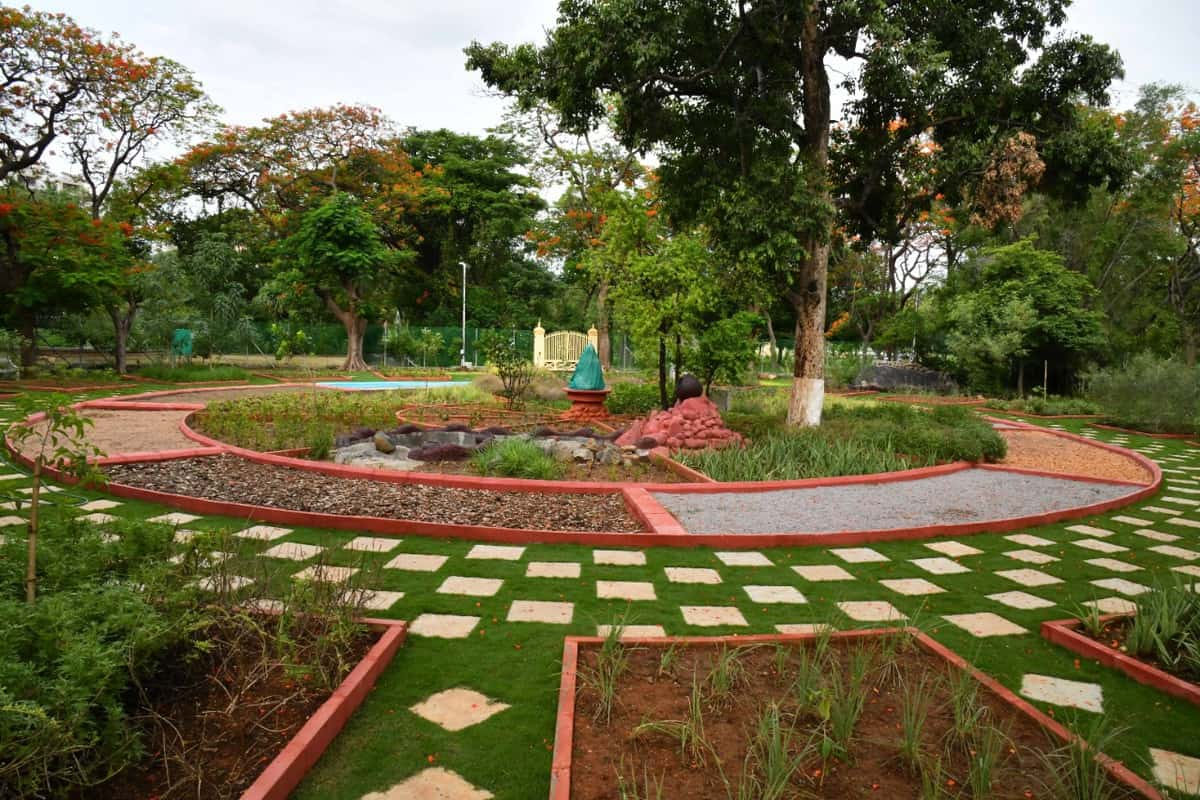 Urban bio-diversity wing of GHMC develop Indira Park