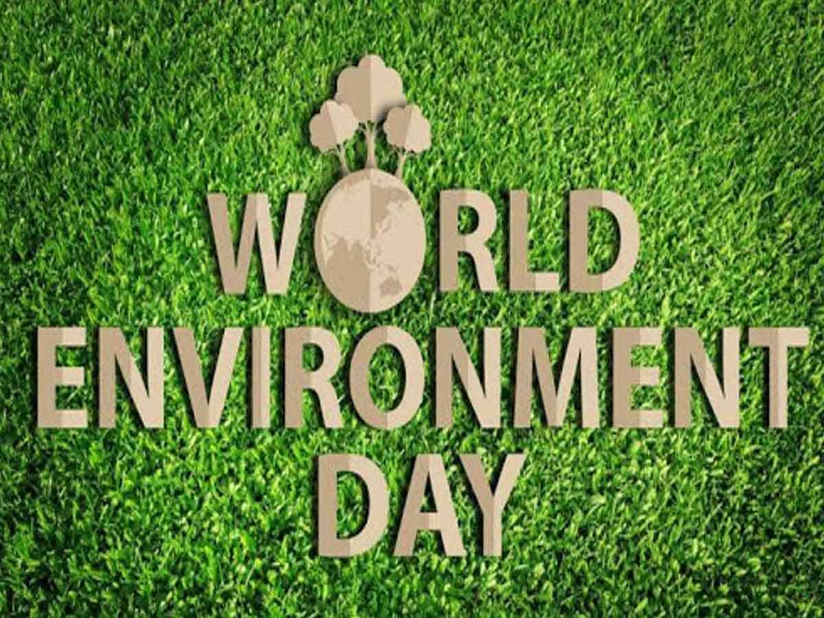 Online slogan writing completion on World Environment Day