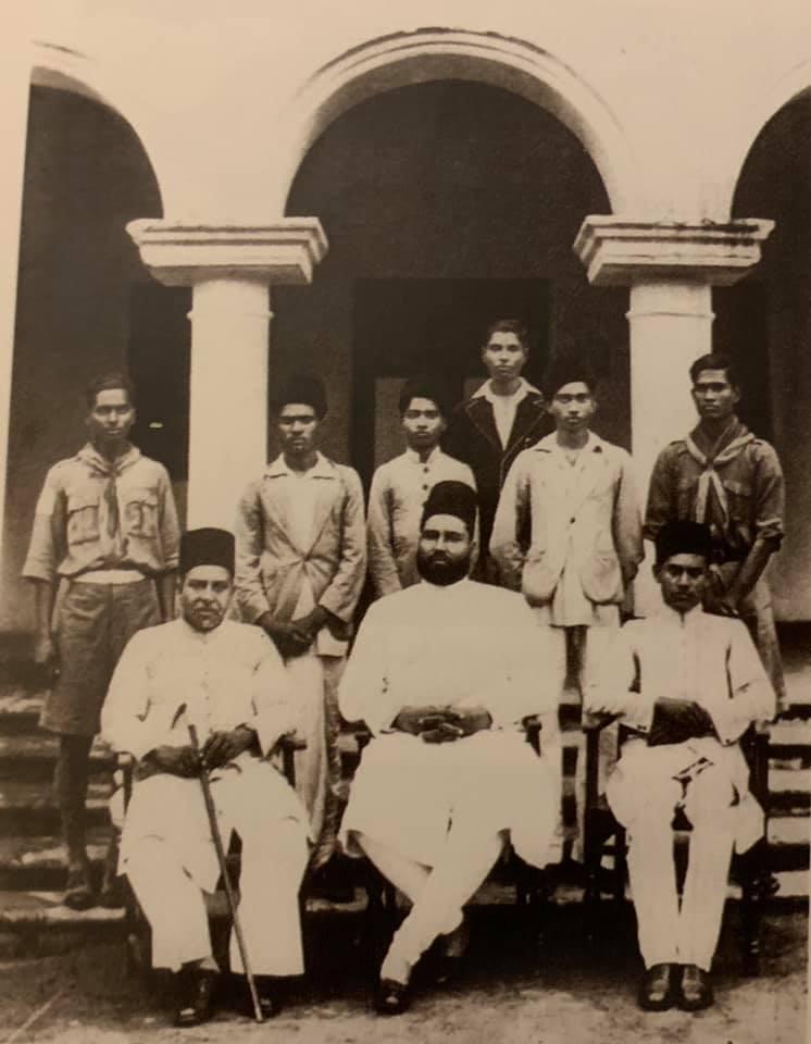 Narasimha Rao with Bahadur Yar Jung, A Picture worth 1000 words