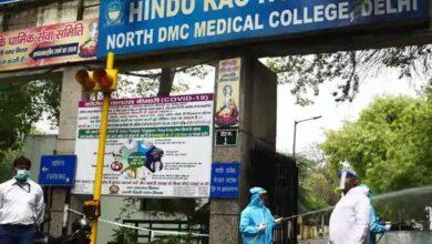 Photo of Hindu Rao Hospital staffer dies of COVID-19, 78 tested positive