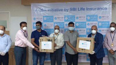 HHF, SBI donates N-95 to Osmania general Hospital