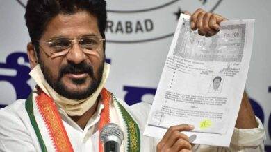 Photo of Congress MP Revanth Reddy demands CBI probe over Srisailam fire incident