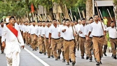 Photo of Why RSS not showing its valour at China border? mock Twitterati