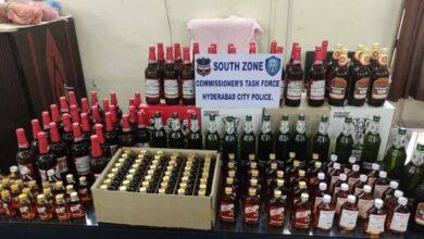 Illegal liquor selling unit raided in Hyderabad