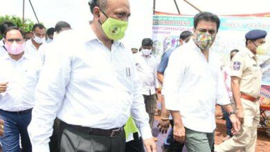 Photo of Haritha Haram Planting Program in Karimnagar District