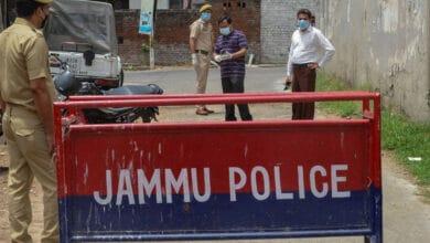 Photo of 3 terrorist associates nabbed in J&K