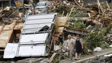 Photo of 52 killed in Japan due to torrential rain