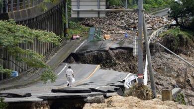 Photo of Heavy rain in Kumamura