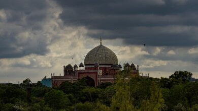 Photo of Monsoon arrives in Delhi