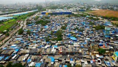 Photo of Aerial view of Mumbai Coronavirus Hotspots