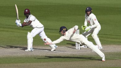 Photo of England & West Indies second Test match