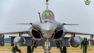 Photo of Rafale aircraft at Ambala airbase