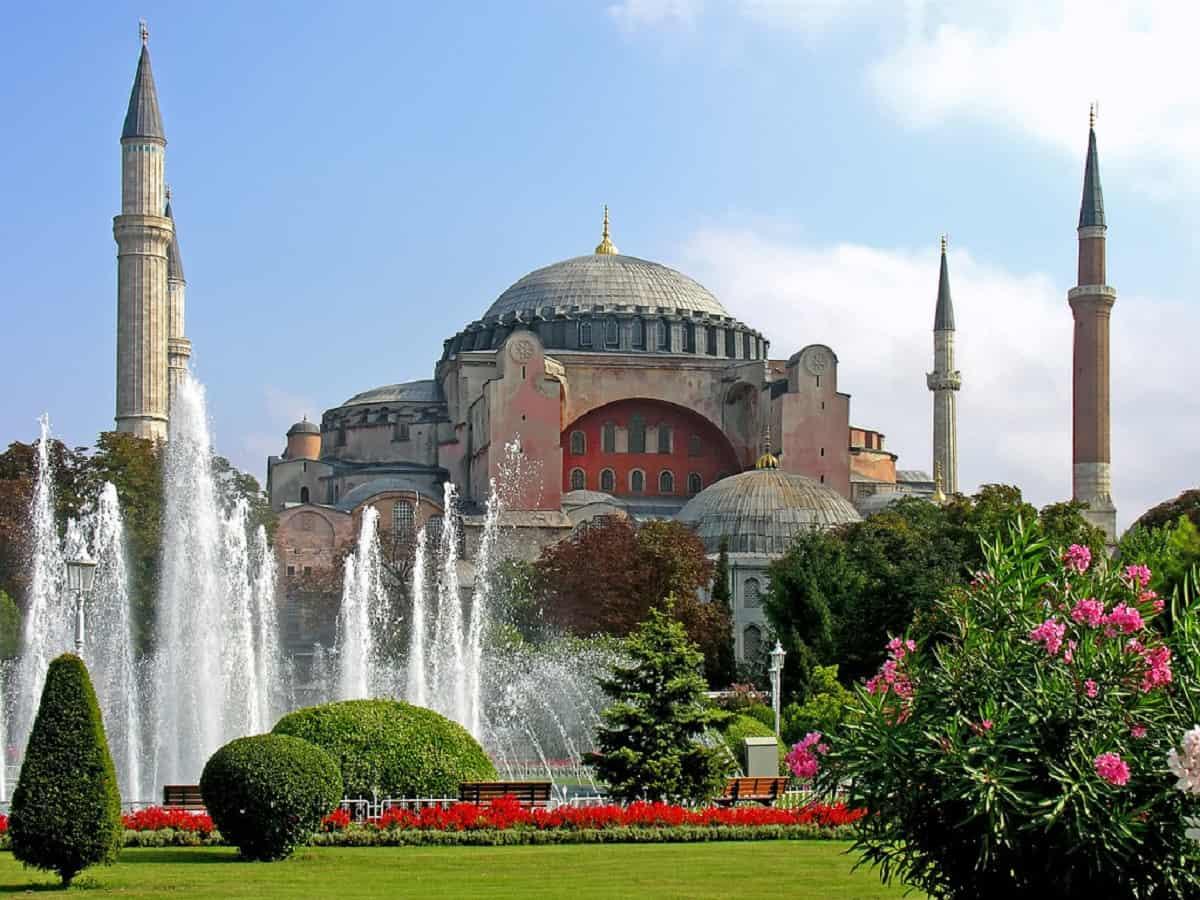 Turkey's iconic Hagia Sofia