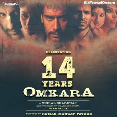 Ajay Devgn celebrates 14 years of 'Omkara'