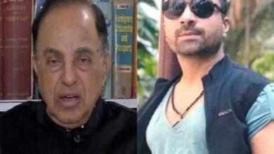 Photo of Ajaz Khan reacts after Swamy targets SRK, Aamir, Salman