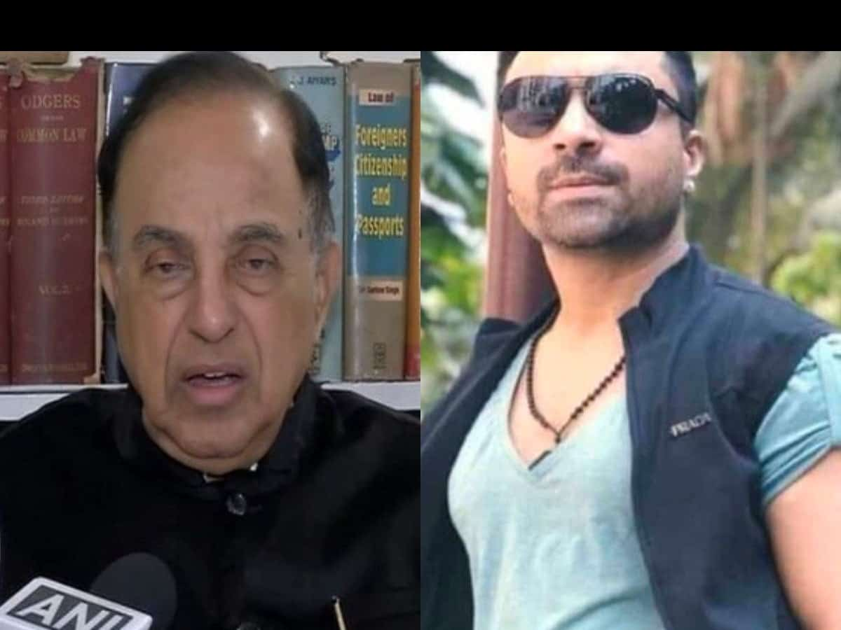 Ajaz Khan reacts after Swamy targets SRK, Aamir, Salman - The Siasat Daily