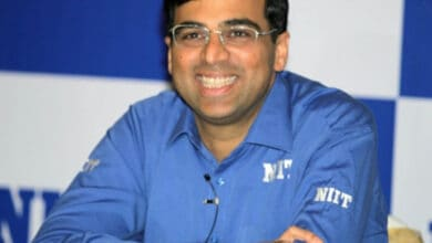 Photo of Anand registers first win at Legends of Chess tournament