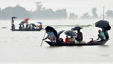 Photo of Flood in Assam maintain falling trend