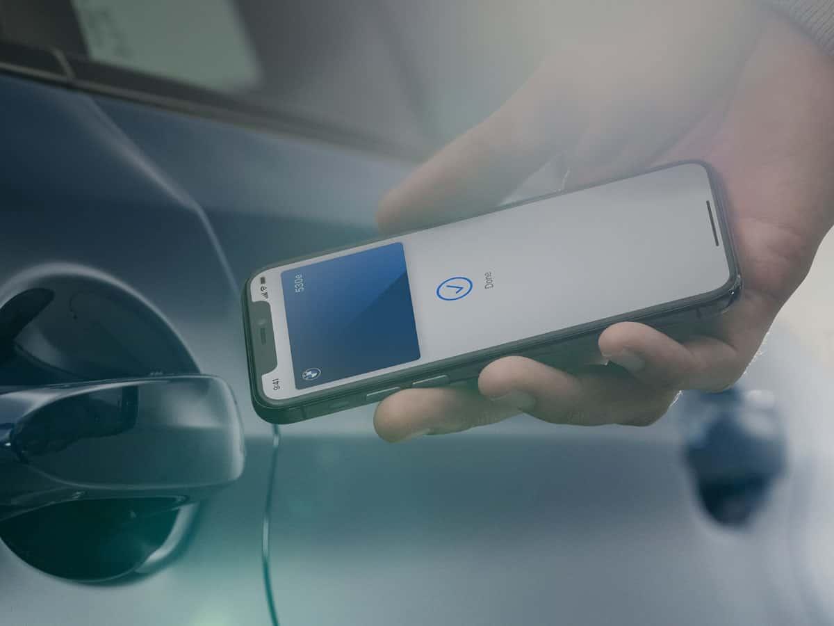 BMW Digital Key:iPhone as car key