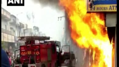 Photo of Fire breaks out in Ahmedabad's CTM area