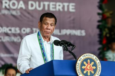 Clean masks with petrol: Philippines Prez