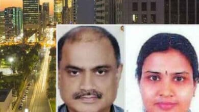 Photo of Indian couple found dead in Abu Dhabi flat