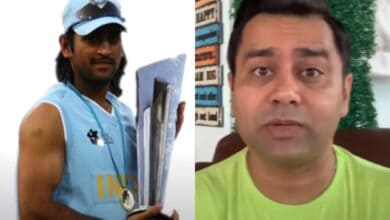 Photo of Ex-batsman Akash Chopra recalls Dhoni's haircut