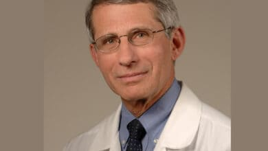 Photo of Dr. Fauci: Avoid large gatherings without masks