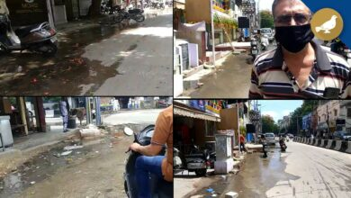Photo of Hyderabad: Overflowing drain in Nampally since 6 months