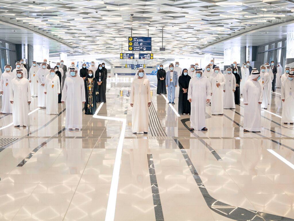 Dubai Metro Route