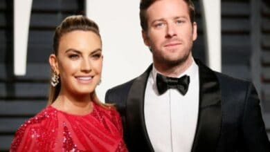 Photo of Elizabeth Chambers files for divorce from Armie Hammer