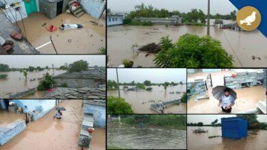 Photo of Heavy rain lashes Telangana, flood like situation in Vikarabad