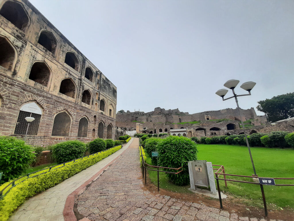 Golconda fort footfall reduced to 300-400 per day due to COVID-19