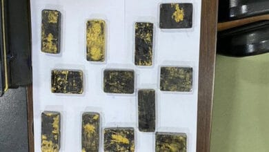 Photo of Gold worth Rs 15.67 crore recovered by Jaipur airport customs
