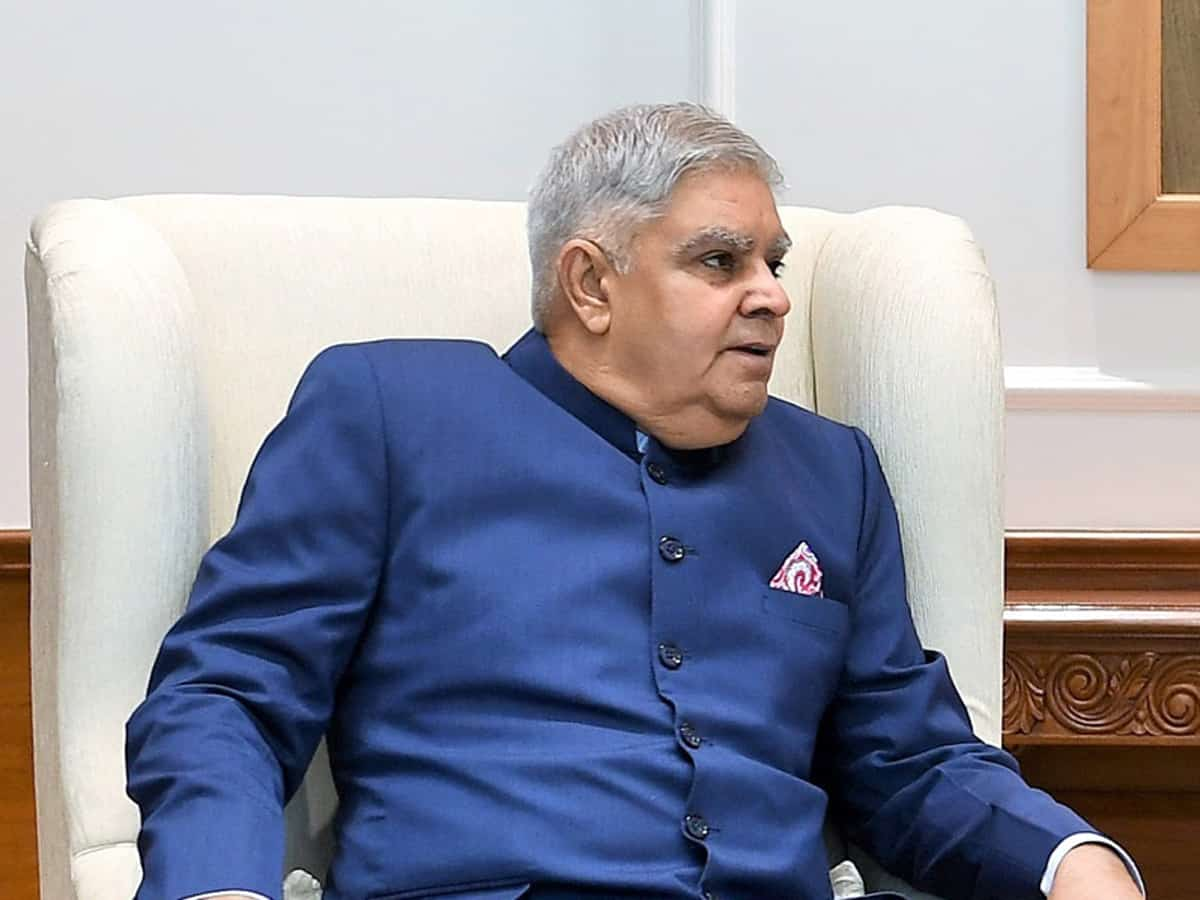 Governor Jagdeep Dhankhar