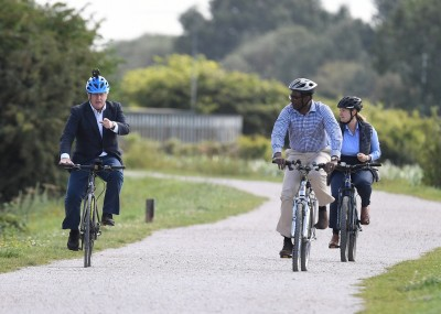 Goyal cites UK PM's cycle ride to show 'Made-in-India' pride