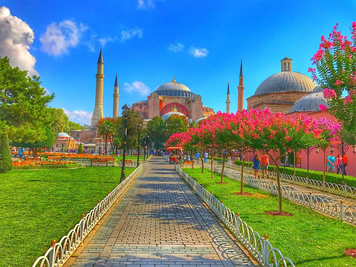 Hagia Sofia- a monument of turbulent history