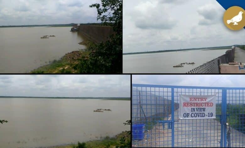 Water level rises in Himayat Sagar
