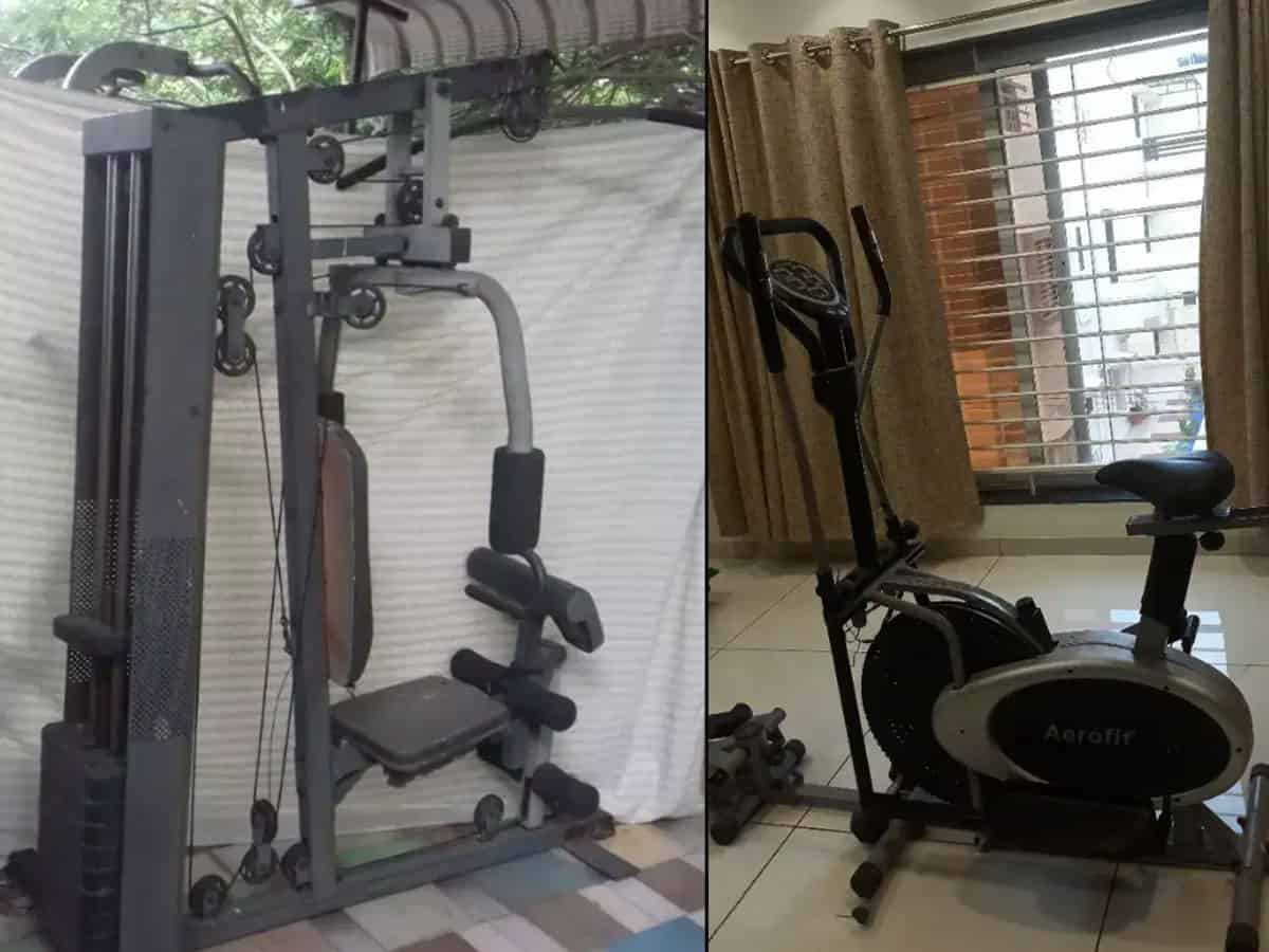 Fitness freaks are creating their own GYM corners at home
